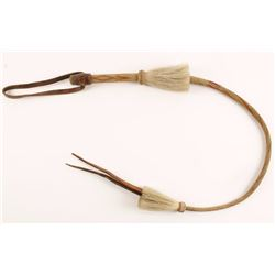 Braided Horse Hair Quirt