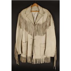 Men's Fringed Buckskin Jacket