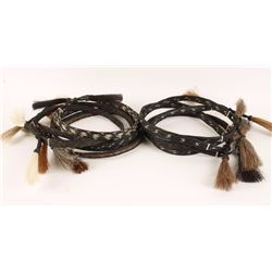Lot of 10 Horsehair Hatbands