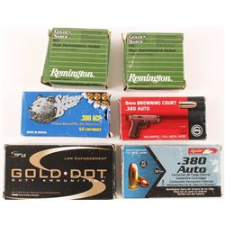Lot of .380 Ammo