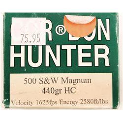 Box of 500 S&W Magnum