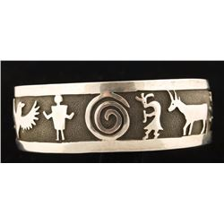 Mens Navajo Storyteller Bracelet