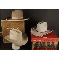 Lot of 3 Cowboy Hats