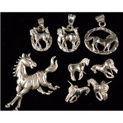 Lot of Horse Jewelry