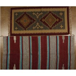 Collection of Two Mexican Rugs