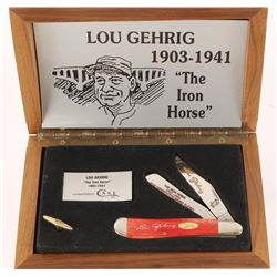 """Case XX Lou Gehrig """"The Iron Horse"""" Edition"""