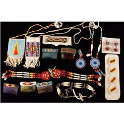 Lot of American Indian Beaded Items
