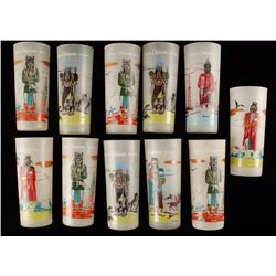 Collection of Indian Water Glasses