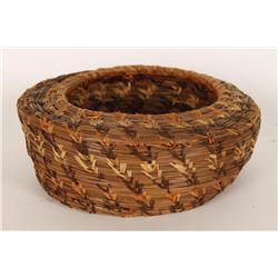 Northern Plains Indian Woven Basket