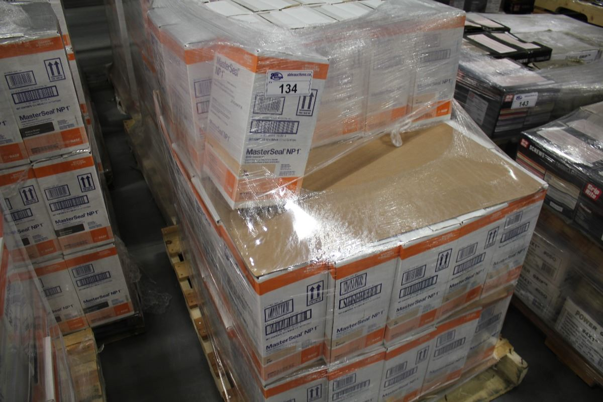PALLET OF MASTERSEAL NP1 POLYURETHANE SEALANT