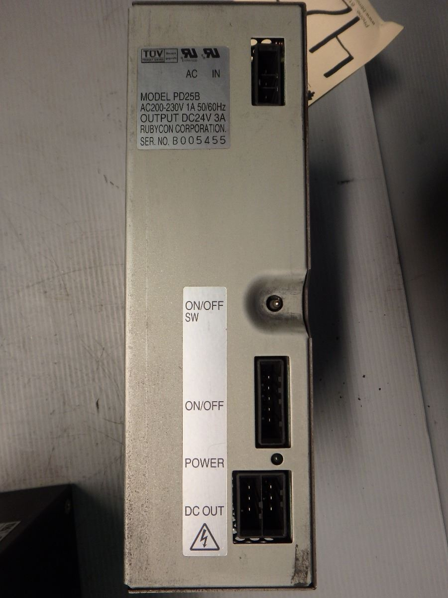 LOT _ Mitsubishi PD25B Power Supply + Sola & Meanwell