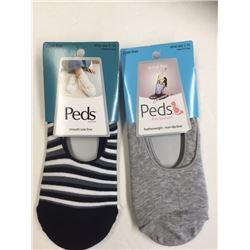 PEDS BRAND ASSORTED SOCKS/ 2 PR PACK