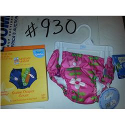 WATERPROOF  DIAPERS & COVERUPS / WASHABLE & REUSABLE  ASSORTED COLORS & SIZES