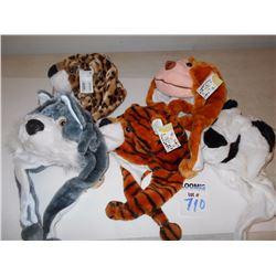 KIDS ASSORTED ANIMAL HATS 68005