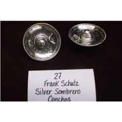 Frank Schultz Silver Sombrero Conchos