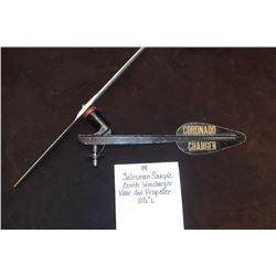 """Salesman Sample Zenith Wincharger Vane and Propeller. 10 1/2""""L"""