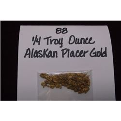 1/4 Troy Ounce Alaskan Placer Gold