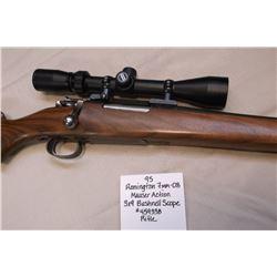Remington 7MM-08 Rifle-Mauser Action. 3X9 Bushnell Scope.  #459338