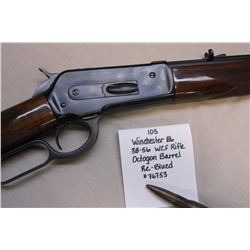 Winchester 86- .38-56 WCF Rifle- Octagon Barrel. Re-Blued. #76753