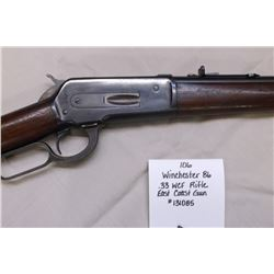 Winchester 86- .33 WCF Rifle East Coast Gun. #131085