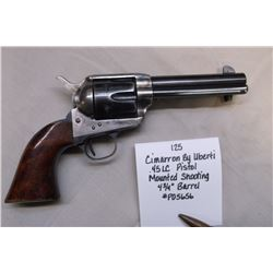 Cimarron by Uberti- .45LC Pistol Mounted Shooting- 4 3/4 Barrel. #P05656