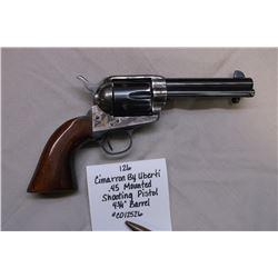"Cimarron by Uberti- .45 Mounted Shooting Pistol- 4 3/4"" Barrel. #C012526"