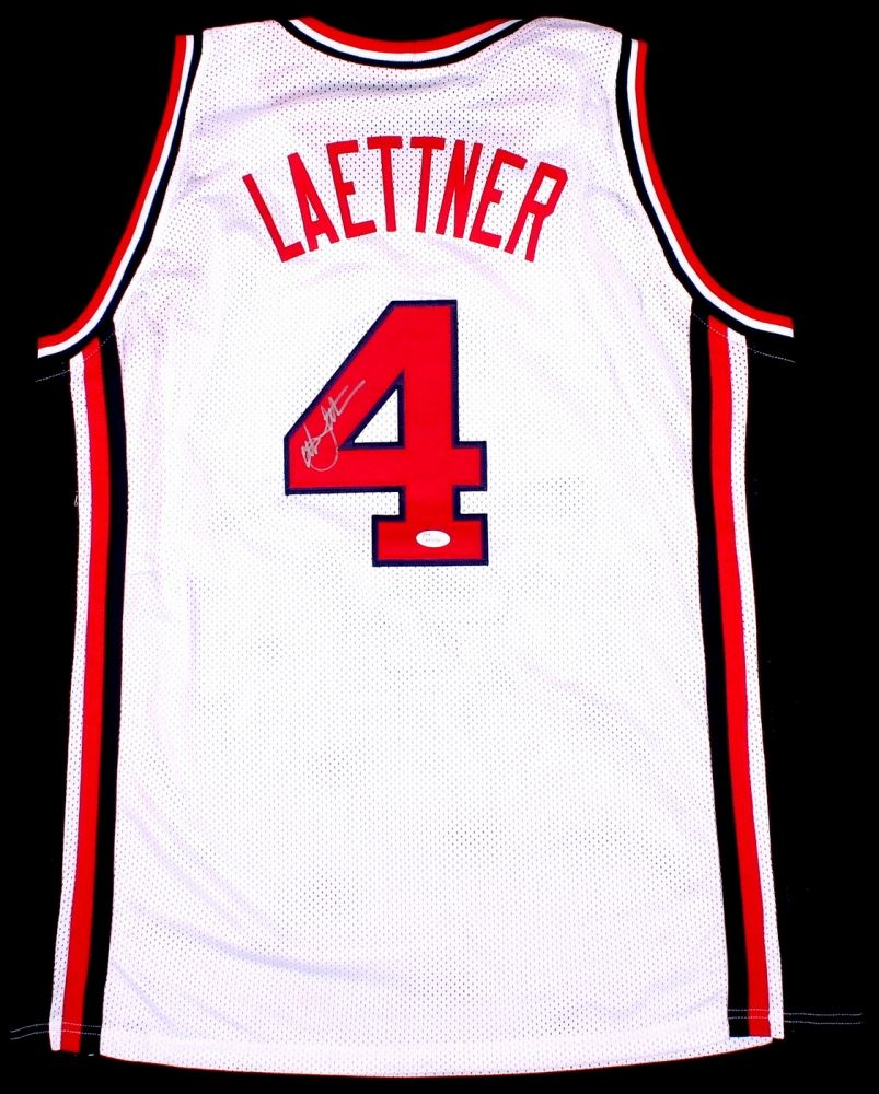 6a92ab9b389 Image 1   Christian Laettner Signed Team USA