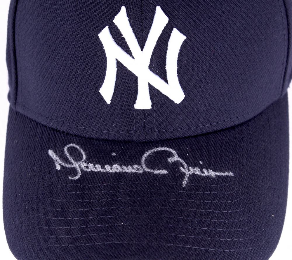 83de241acd3d8 Image 1   Mariano Rivera Signed Yankees Fitted Wool Hat with Retirement  Logo Patch (Steiner ...