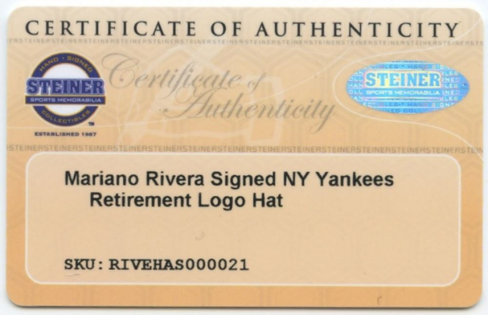 50923754da0 ... Image 5   Mariano Rivera Signed Yankees Fitted Wool Hat with Retirement  Logo Patch (Steiner