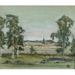 PRINS EUGEN 1865-1947 Sommarlandskap från, PRINS EUGEN 1865-1947 Sommarlandskap från Vätternbyg...