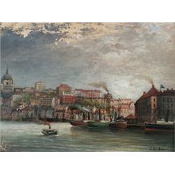 ERNFRIED WAHLQVIST 1818-1895 Chatarinahissen,, ERNFRIED WAHLQVIST 1818-1895 Chatarinahissen, St...