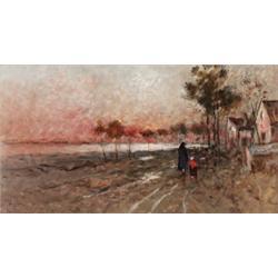 WILHELM VON GEGERFELT 1844-1920 Promenerande, WILHELM VON GEGERFELT 1844-1920 Promenerande par...