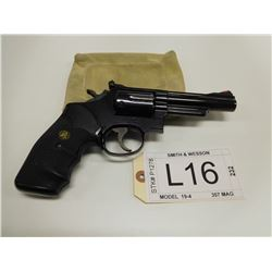 SMITH & WESSON , MODEL: 19-4 , CALIBER: .357 MAG