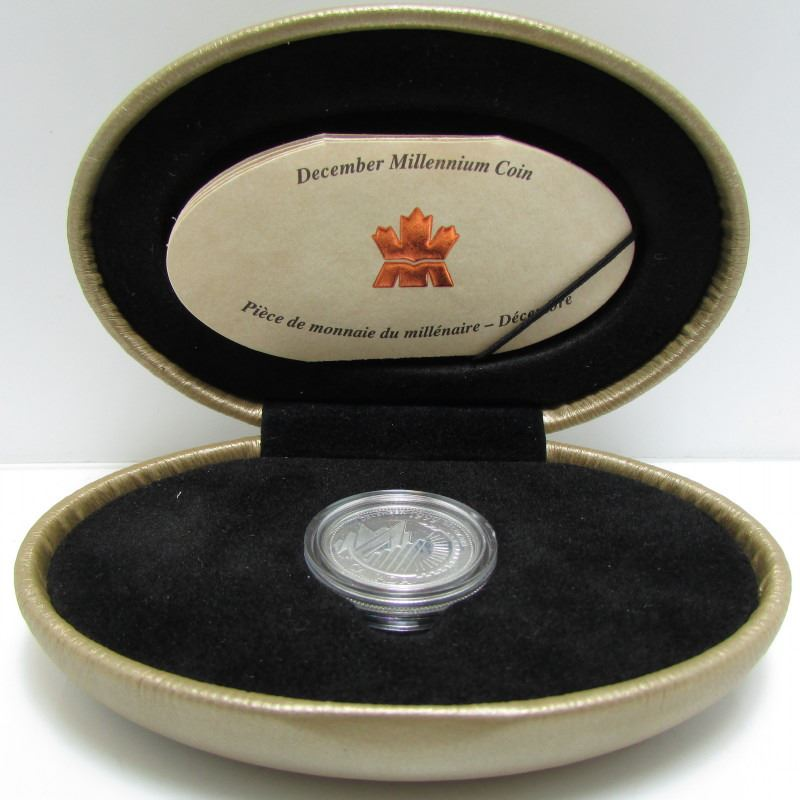Mint in Case with COA/'s 1999 MILLENNIUM Sterling Silver Quarter Proof Set