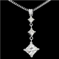 14K Gold 2.50ctw Diamond Necklace