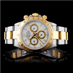 Rolex YG/SS Daytona Men's Wristwatch