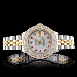 Rolex DateJust 2.00ct Diamond Ladies Watch