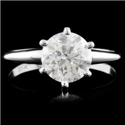 14K Gold 1.51ctw Solitaire Diamond Ring
