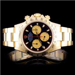 Rolex 18K YG Daytona Men's Watch