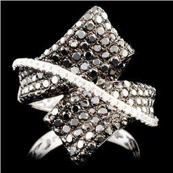 14K Gold 1.99ctw Fancy Color Diamond Ring