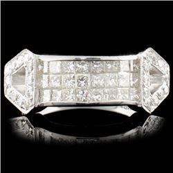 18K Gold 1.20ctw Diamond Ring