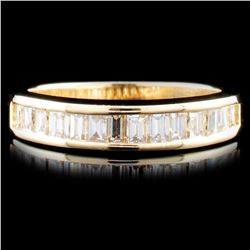 14K Gold 1.13ctw Diamond Ring