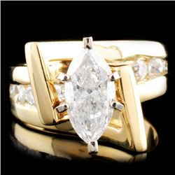 18K Gold 1.60ctw Diamond Ring