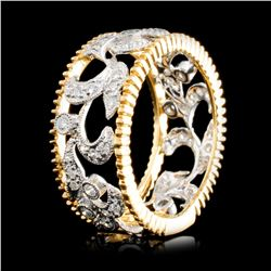 14K Gold 0.39ctw Diamond Ring