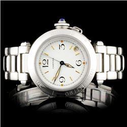 Pasha de Cartier SS Ladies Wristwatch