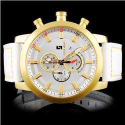 Polanti SS Yellow Rogue Wristwatch