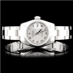 Rolex SS DateJust Ladies Watch