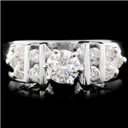 18K Gold 0.69ctw Diamond Ring