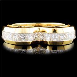18K Gold 1.41ctw Diamond Ring
