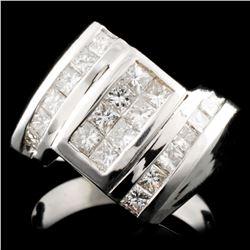 18K Gold 1.29ctw Diamond Ring